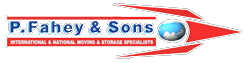 Logo - P Fahey & Sons - Removals